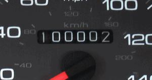 Afbeelding Kilometerteller Auto