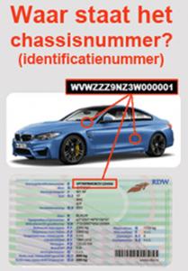 chassisnummer opzoeken